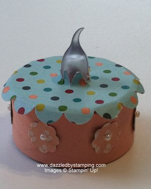 Tealight candle (battery), Birthday Basics, Itty Bitty Shapes Punch Pack