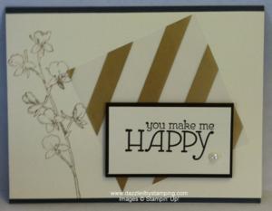 Happy Watercolor, Gold Fancy Foil Designer Vellum, www.dazzledbystamping.com