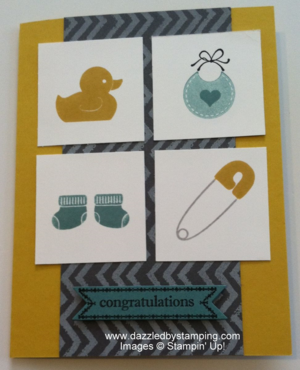Something for Baby, Work of Art, Itty Bitty Banners, www.dazzledbystamping.com