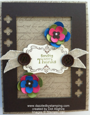 Created by Dot Alighire, Annual Card Contest, www.dazzledbystamping.com, #HAP2014
