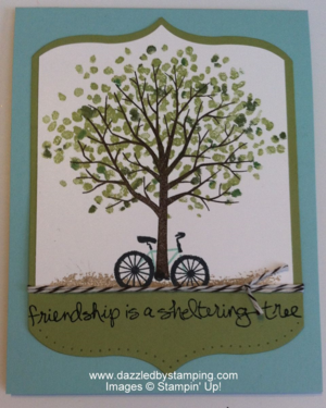 Sheltering Tree, www.dazzledbystamping.com