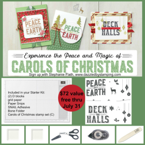 Christmas in July! Click here to sign up!