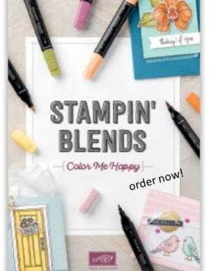 Stampin' Blends Markers Brochure