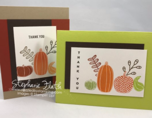 Pick a Pumpkin, Vertical Greetings, Thoughtful Banners, www.dazzledbystamping.com