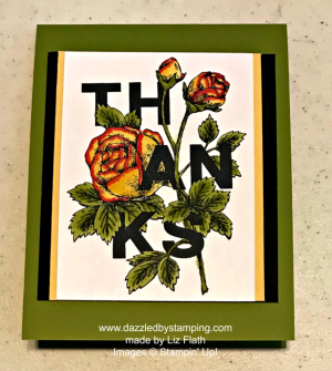Floral Statements, created by Liz Flath, www.dazzledbystamping.com