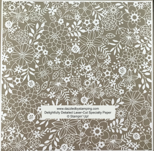 Delightfully Detailed Laser-Cut Specialty Paper, www.dazzledbystamping.com