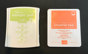 Pad redesign--larger color label, www.dazzledbystamping.com