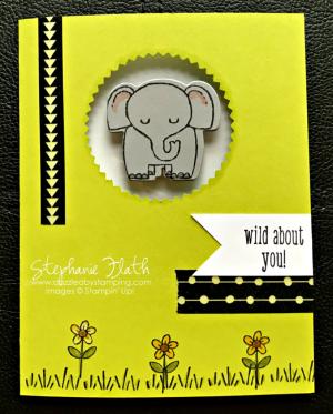 A Little Wild bundle, www.dazzledbystamping.com