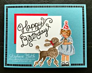Birthday Delivery bundle, www.dazzledbystamping.com