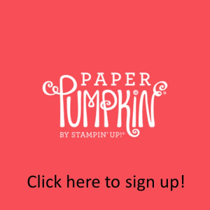 Click to sign up for Paper Pumpkin!