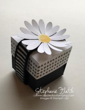EOS Chapstick box/holder, Daisy Delight bundle, www.dazzledbystamping.com