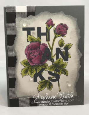 Floral Statements, Stampin' Blends, www.dazzledbystamping.com