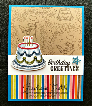 Birthday Delivery Bundle, www.dazzledbystamping.com