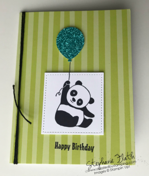 Party Pandas (SAB), Tutti Fruiti Cards & Envelopes (SAB), www.dazzledbystamping.com