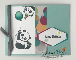 Party Pandas (SAB), www.dazzledbystamping.com
