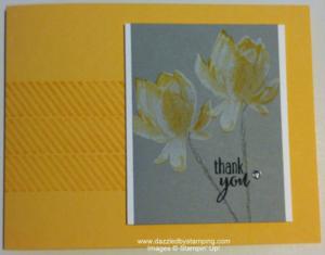 Lotus Blossom, Gorgeous Grunge, www.dazzledbystamping.com