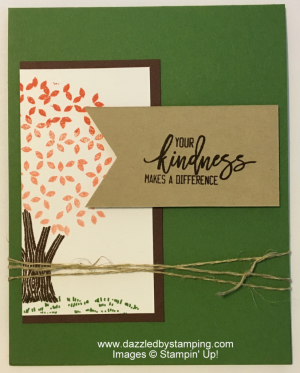 Thoughtful Branches, www.dazzledbystamping.com