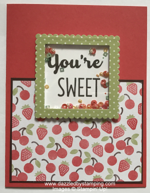 Cool Treats bundle  Layering Squares Framelits  www.dazzledbystamping.com