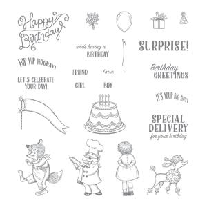 Birthday Delivery set