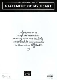 Statement of My Heart - exclusive freebie (Gotta Have It All SWYL bundle), www.dazzledbystamping.com
