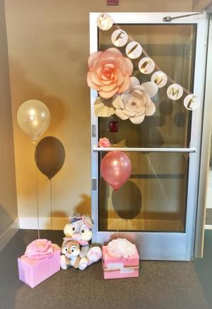 Liz Harrington's baby shower