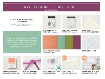 A Little More Please (Share What You Love Bundle)
