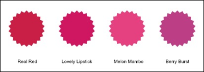 Color Comparisons.dark pinks vs red