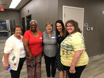 Arlene, Diane, Nadine, Shannon and Steph at the Grand Rapids Meet & Greet with Shannon West