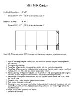Mini Milk Carton pic.instructions