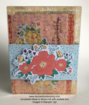 Made to Bloom All-Inclusive Card Kit, www.dazzledbystamping.com