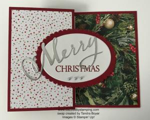 Merry Christmas to All bundle, swap created by Tandra Boyer, www.dazzledbystamping.com