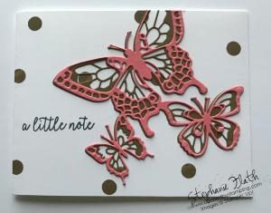 Butterfly Beauty Thinlits, www.dazzledbystamping.com