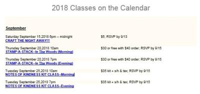 Class schedule pic.thru122018.1