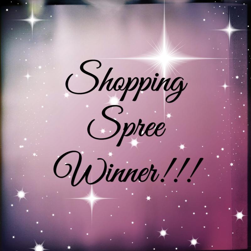 Shopping Spree Winner