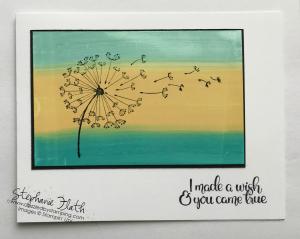 Dandelion Wishes, www.dazzledbystamping.com