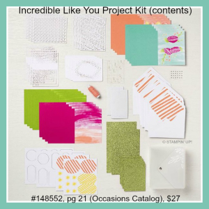 Incredible Like You Project Kit