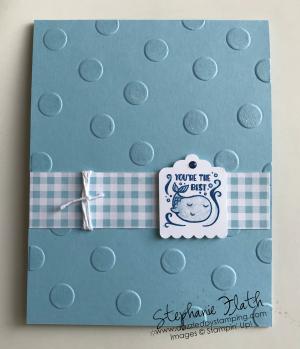 Cute Crew Punch Box, www.dazzledbystamping.com