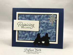 Night in Bethlehem set & Bethlehem Edgelits, www.dazzledbystamping.com