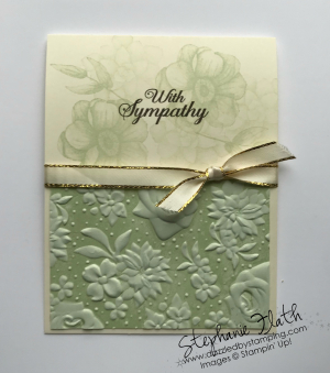 Painted Seasons, Lasting Lilies, Country Floral folder, www.dazzledbystamping.com