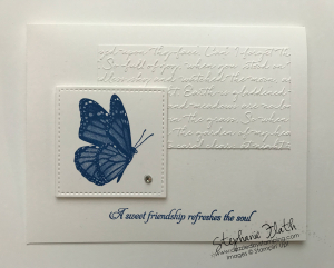 Butterfly Wishes, Stitched Shapes Dies, Scripty 3D embossing folder, www.dazzledbystamping.com