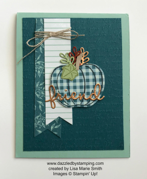 Harvest Hellos, created by Lisa Marie Smith, www.dazzledbystamping.com