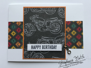 Itty Bitty Birthdays, Classic Garage DSP, www.dazzledbystamping.com