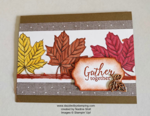 Come to Gather Suite, www.dazzledbystamping.com