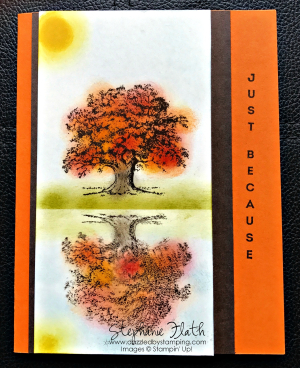 Lovely As a Tree & Vertical Greetings, www.dazzledbystamping.com