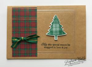 Magnolia Lane Cards & Envelopes, Perfect Plaid bundle, www.dazzledbystamping.com