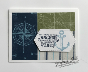 Sailing Home, Come Sail Away DSP, www.dazzledbystamping.com