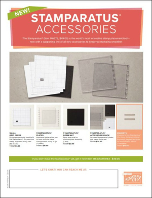 Stamparatus accessories flyer pic