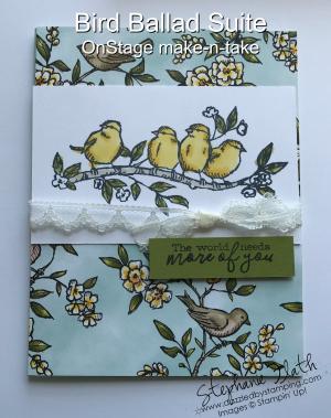 Free as a Bird, Bird Ballad DSP, www.dazzledbystamping.com