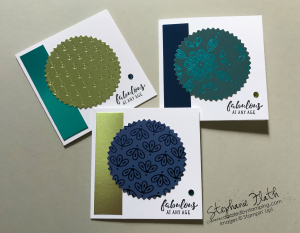 Itty Bitty Greetings, Noble Peacock Specialty DSP, Foil Sheets & Rhinestones, www.dazzledbystamping.com