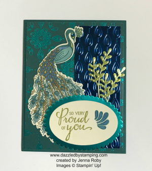 Noble Peacock bundle, DSP, foil sheets